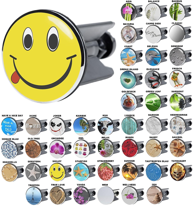 Waschbeckenstöpsel Karibik, viele schöne Waschbeckenstöpsel zur Auswahl, hochwertige Qualität ✶✶✶✶✶ hochwertige Qualität ✶✶✶✶✶ Sanilo
