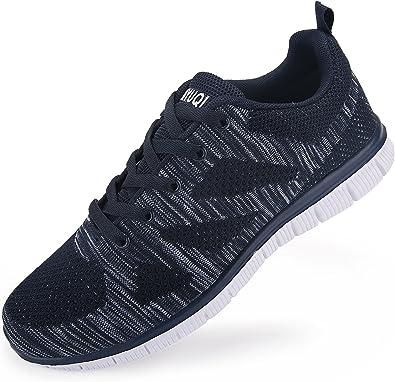 Zapatillas de Running para Hombre. Material Sintetico Ligero y ...