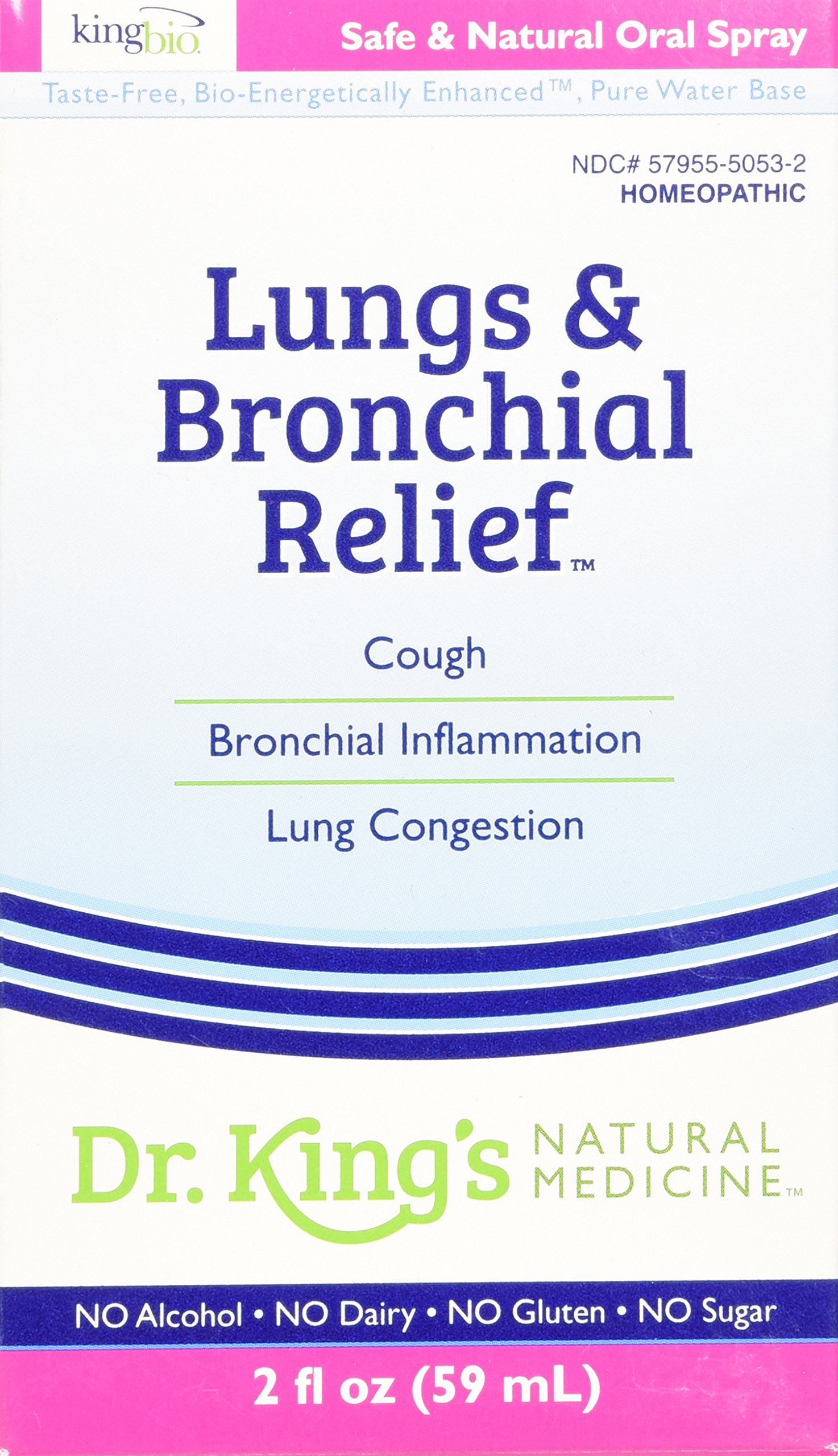 Dr. King's Natural Medicine Lungs and Bronchial Relief, 2 Fluid Ounce
