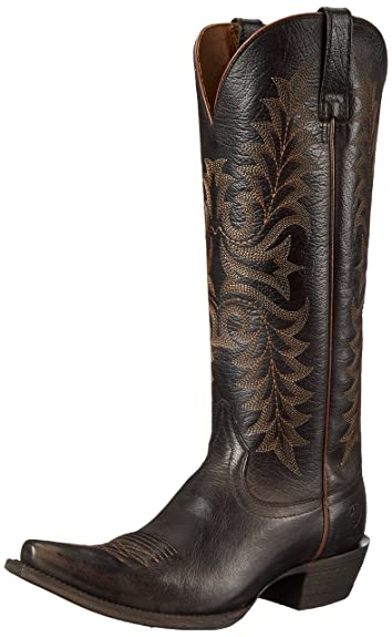 Ariat Women's Revel Western Cowboy Boot, Rustic Black, ...