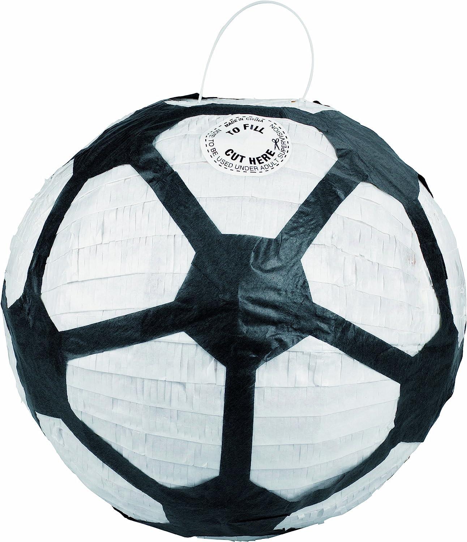 KimPlay 12612 - Piñata con forma de balón de fútbol (no rellena ...