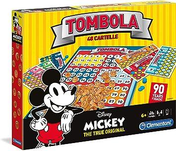 Juegos de Mesa – Mickey Ratón Bingo 90s, 16556: Amazon.es: Juguetes y juegos