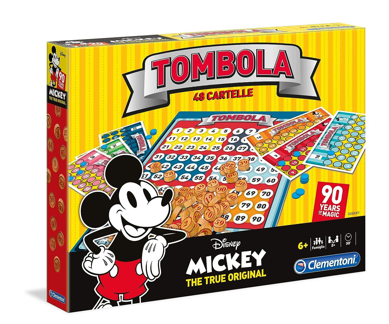 Clementoni 16556 Giochi Da Tavolo Tombola 90s Mickey Mouse Disney