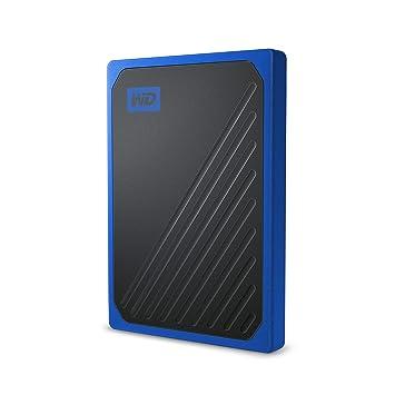 WD My Passport Go 500 GB, disco duro sólido externo - acabado cobalto: Amazon.es: Informática