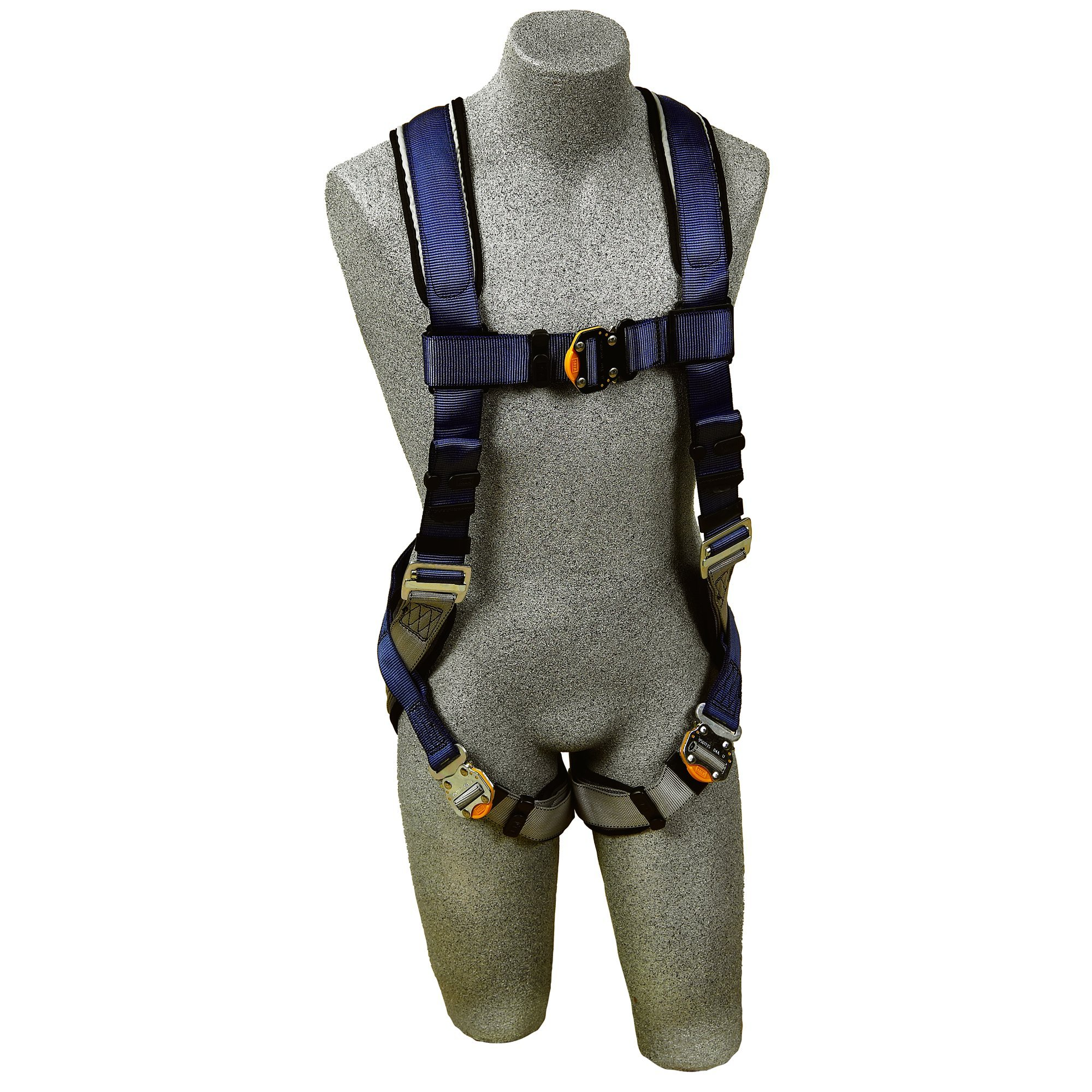 3M DBI-SALA ExoFit Vest Style Harness, Back D-Ring, Medium, 1107976