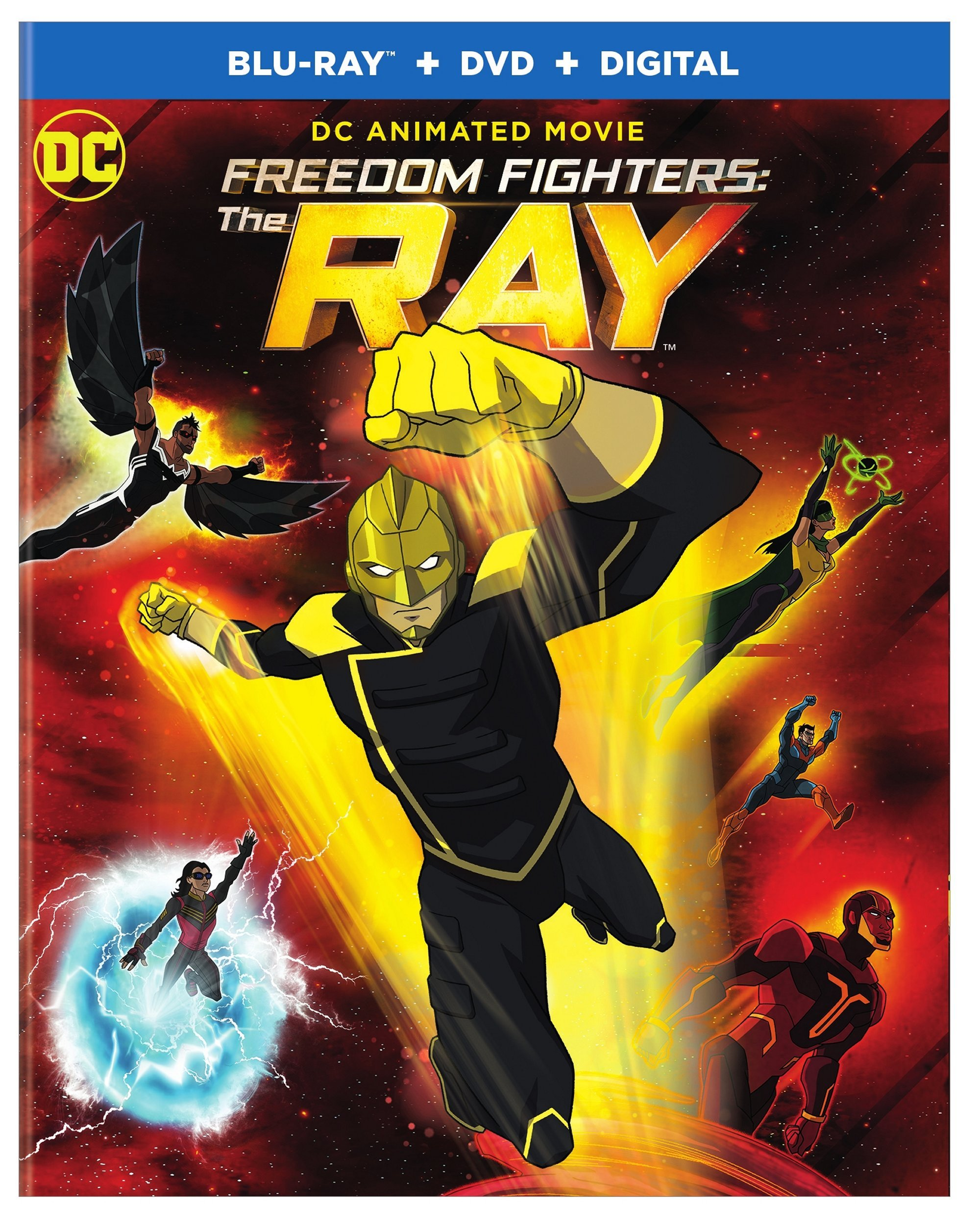 Blu-ray : Dc Freedom Fighters: The Ray (With DVD, 2 Pack, Digital Copy, 2PC)