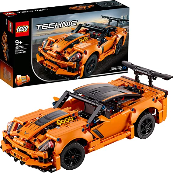LEGO Technic Chevrolet Corvette ZR1 42093 Building Kit 579 Pieces at Kapruka Online for specialGifts