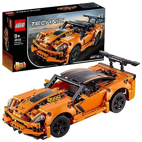 lego technics 2019  : LEGO Technic Chevrolet Corvette ZR1 42093 Building Kit ...