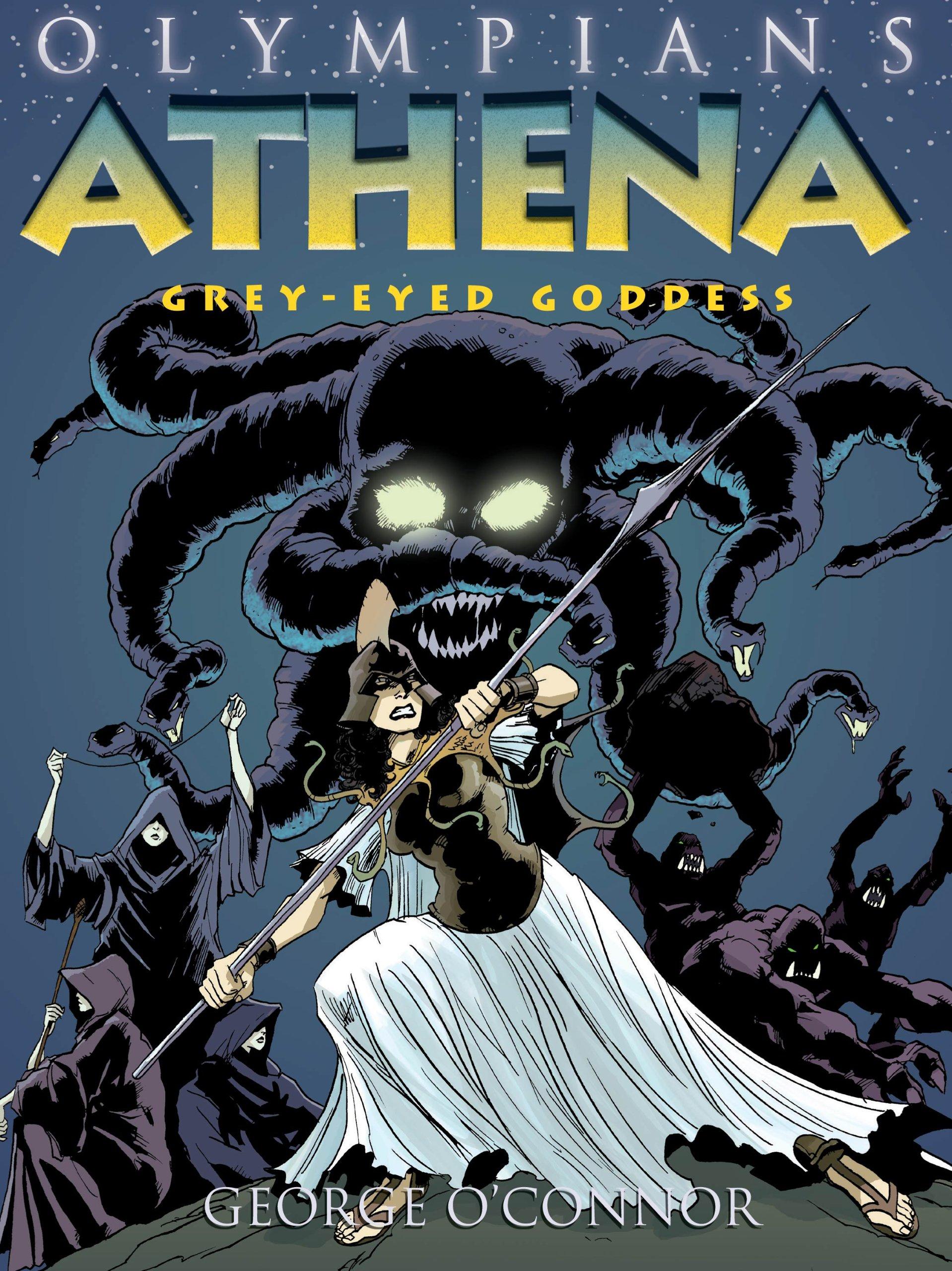 amazon com athena grey eyed goddess olympians 9781596434325