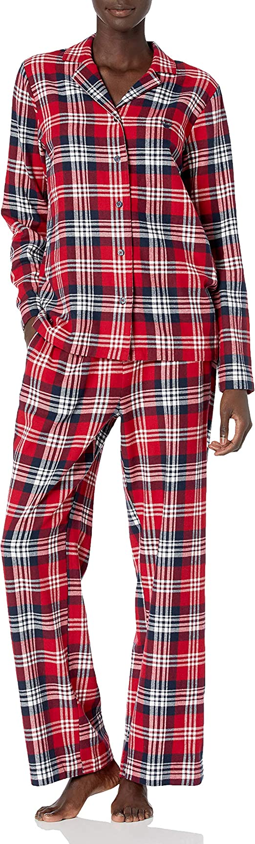 Emporio Armani Party Pajamas Set Pijama, Check Rubin ...
