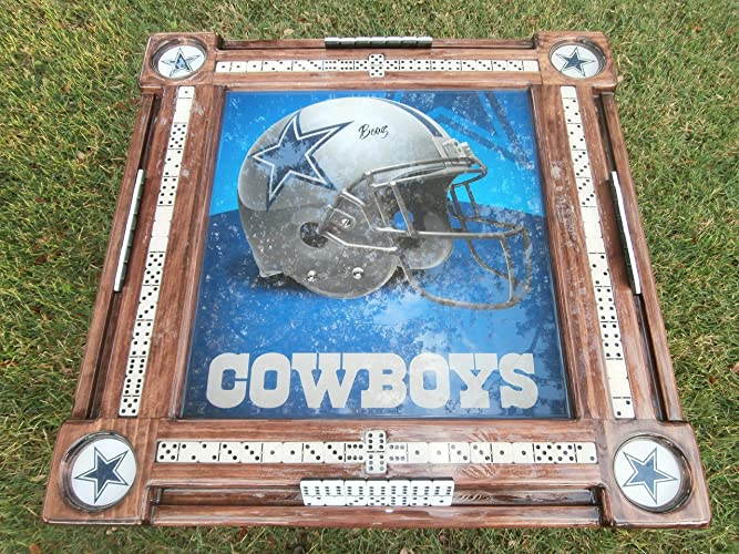Amazon.com  Dallas Cowboys Domino Table  Handmade c01b3280a