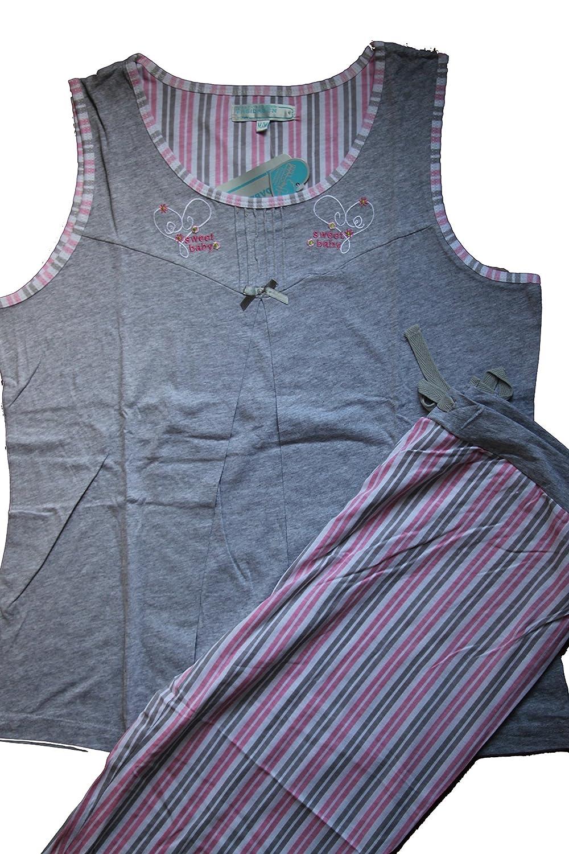 First Class Intimates Nursing Pajama Capri Set ... (openings to breastfeed)