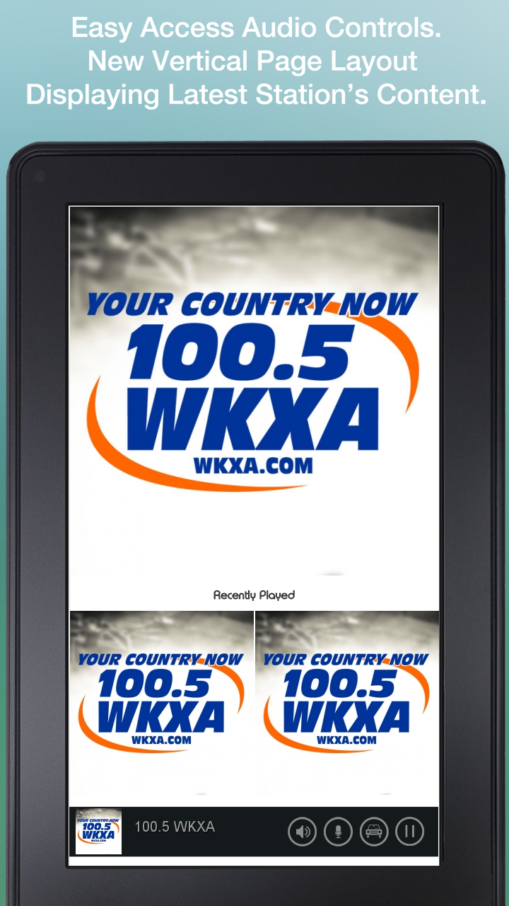 100 5 WKXA: Amazon ca: Appstore for Android