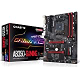 GIGABYTE GA-AB350-Gaming (AMD RYZEN AM4/ B350/ SMART FAN 5/ HDMI/ M.2/ SATA/ USB 3.1 Type-A/ ATX/ DDR4/ Motherboard)