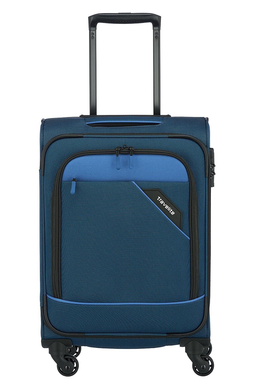 Blau 55 cm Travelite Derby 4-Rad Trolley S Bleu Blau 41 liters 87547-20 Bagage Cabine