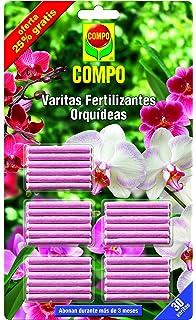 Compo 1197802011 Varitas Fertilizantes Orquídeas (x 24 Unidades + 6 Gratis), 24.3x14