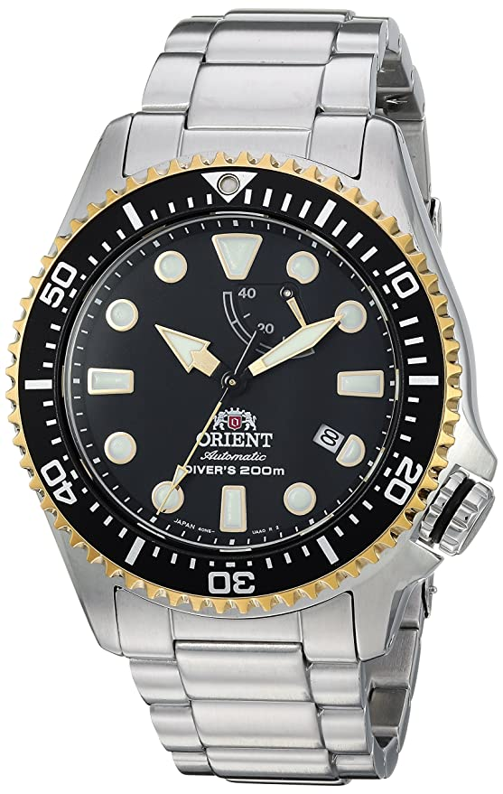 Amazon.com: Orient Mens Triton Japanese Automatic Stainless Steel Diving Watch, Color:Silver-Toned (Model: RA-EL0002L00A): Watches
