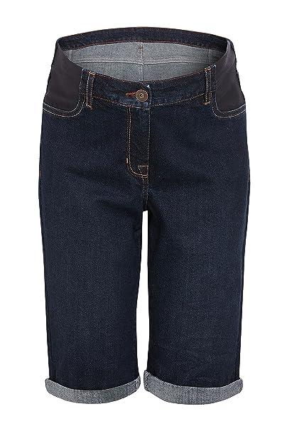b901449b5 next Mujer Pantalones Cortos A La Rodilla De Premamá Denim Oscuro EU 50 (UK  22