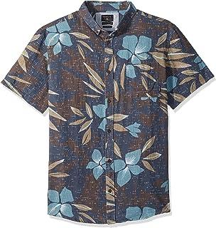 557c0435673e Amazon.com  Quiksilver Men s Sunset Floral Short Sleeve  Clothing