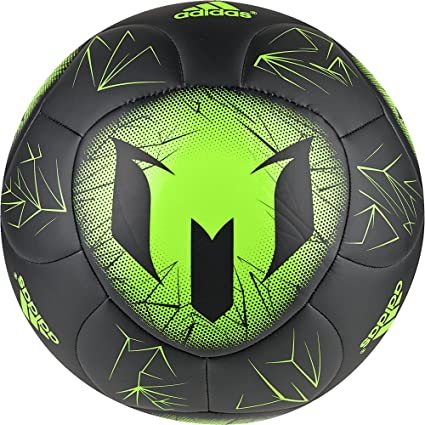 adidas Messi Q4 Balón de fútbol, Hombre, Negro (Negro/Versol), 5 ...