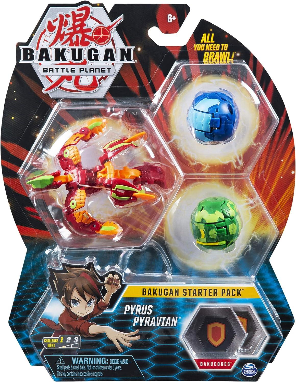 BAKUGAN Starter Pack - Pack Pyrus Pyravian: Amazon.es: Juguetes y ...