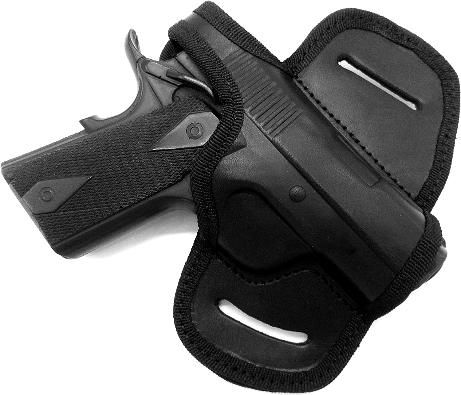 Kimber Ultra Carry II Holster Leather Thumb Break Locked Cocked Made By Tagua