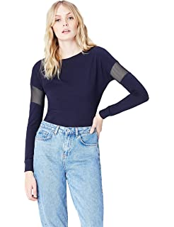Activewear Camiseta Rejilla para Mujer: Amazon.es: Ropa y accesorios