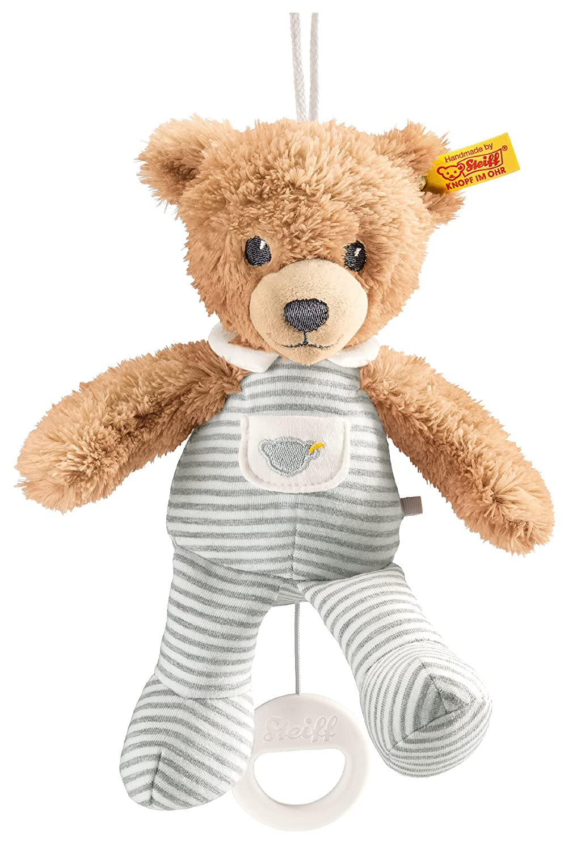 Steiff Sleep Well Bear Music Box, Gray, 7.9 7.9 239922