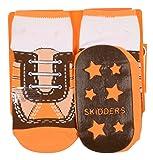Skidders Shoe Style Baby Boys' Gripper Socks, 6