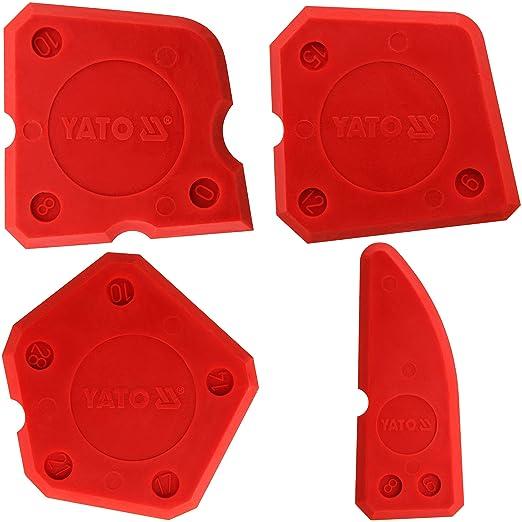 15 opinioni per Yato YT-5261–Kit di spatole per silicone 4pza Yato