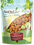 Food to Live Almonds (Whole, Raw, Shelled, Unsalted) (8 Ounces)