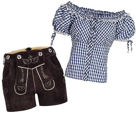 Courte Femmes Traditionnel En Pantalon Nouvelle Longueur Set Cuir hrBotsQdCx