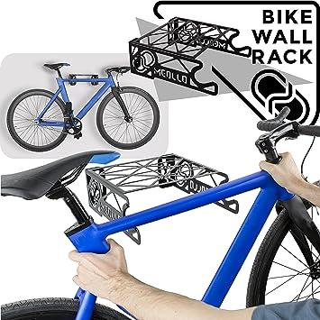 MEOLLO Soporte Colgador para Bicicleta (100% Acero) - Fabricado en España.: Amazon.es: Deportes y aire libre