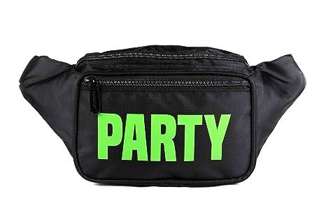 e5fe52d2e7 SoJourner Black Party Fanny Pack - Neon Packs for men
