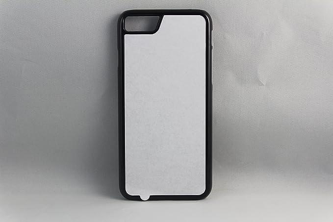 huge selection of fdffc 4a119 Amazon.com: Apple iPhone 7 Rubber / Plastic - Black / White - DIY ...