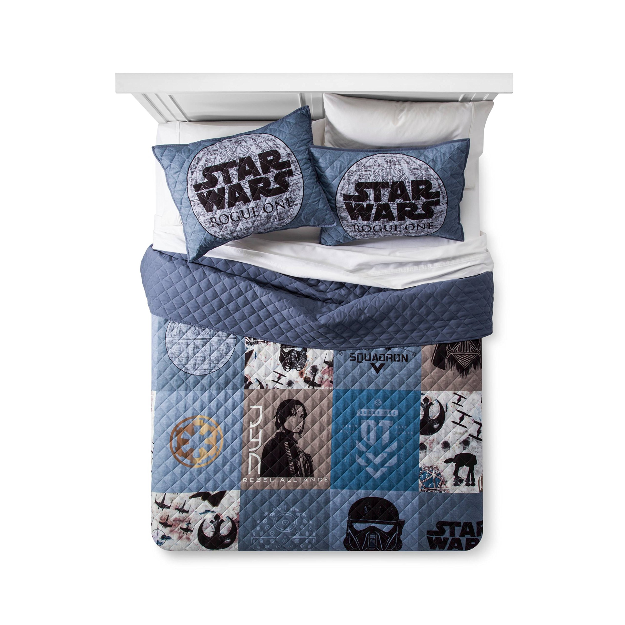 Star Wars Rogue One Quilt (Full/Queen) Grey
