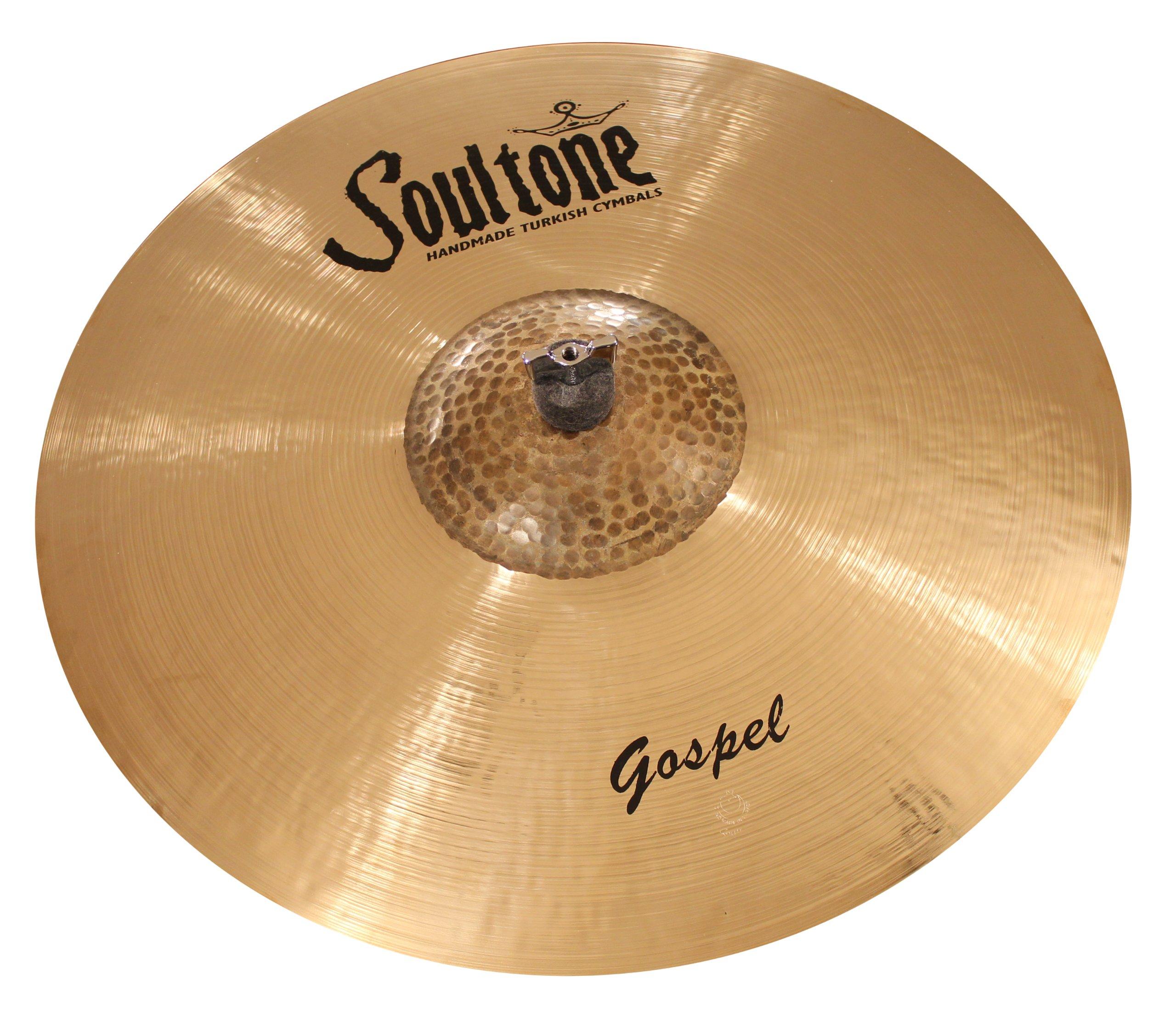 Soultone Cymbals GSP-MBRID26-26'' Gospel Mega Bell Ride by Soultone Cymbals