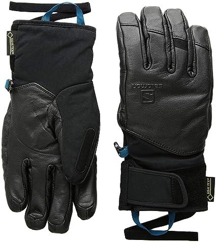 6769219ab28 Salomon Men's QST GORE-TEX Cold Weather Gloves, Black, Medium