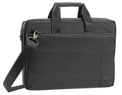 0c2fec44a8b1 Rivacase 15.6 inch Stylish Laptop Shoulder Bag w/Padded Compartment - Grey