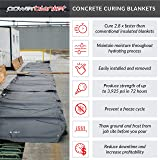 Powerblanket MD0510 Heated Concrete Blanket, 5' x