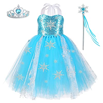 Girls Unicorn Dress Pageant Flower Costume Kids Unicorn Fancy Dress Tutu Ball Gowns: Clothing