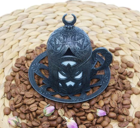 VIGIND Manual Coffee Grinder,Hand Coffee Mill With Two Glass ...