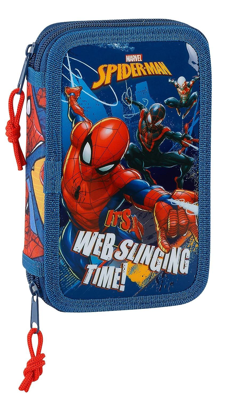 Spiderman 2018 Astuccio, 20 cm, 1 Liters, Blu (Azul y Rojo) 411843854