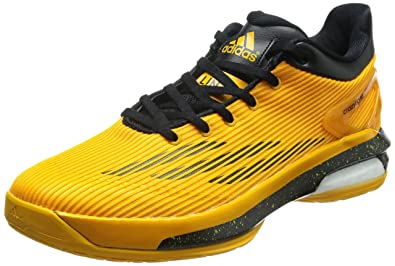 competitive price 4694b 88a87 adidas Crazylight Boost Low, Jlin17 La Lakers-Gold Yellow Black