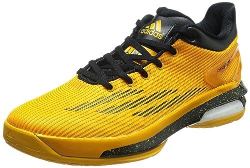 Adidas Crazylight Boost Low Zapatilla de Baloncesto Caballero, Oro ...