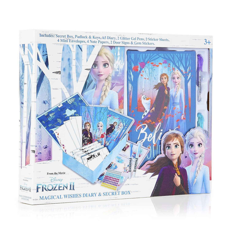 Disney Frozen 2 Diario Secreto Niña con Candado, Caja ...