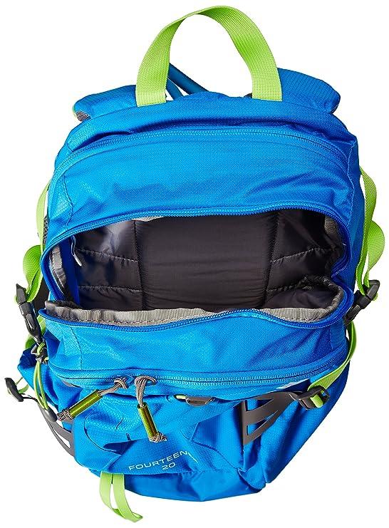CamelBak Trinkrucksack Fourteener 20 - Mochila de Ciclismo, Color Azul, Talla 52 x 22 x 25.5 cm, 17 L: Amazon.es: Deportes y aire libre