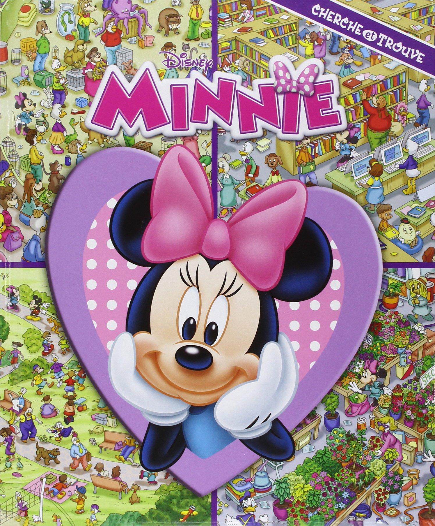 Amazon Fr Minnie Cherche Et Trouve Disney Livres