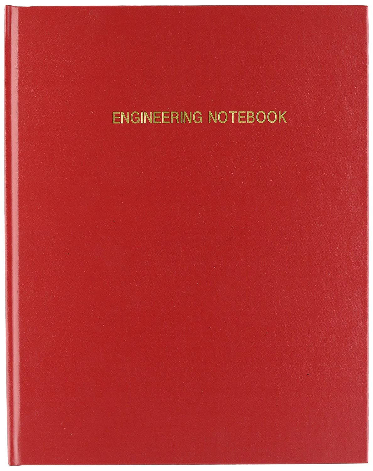 .25 Engineering Grid Format 8 x 10 Engineering Lab Notebook Red Cover Smyth Sewn Hardbound 168 Pages EPRIL-168-SGS-LRT4 BookFactory Red Engineering Notebook