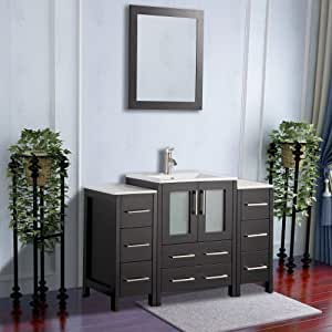 Amazon.com: Vanity Art 48 inch Single Sink Modern Bathroom ...